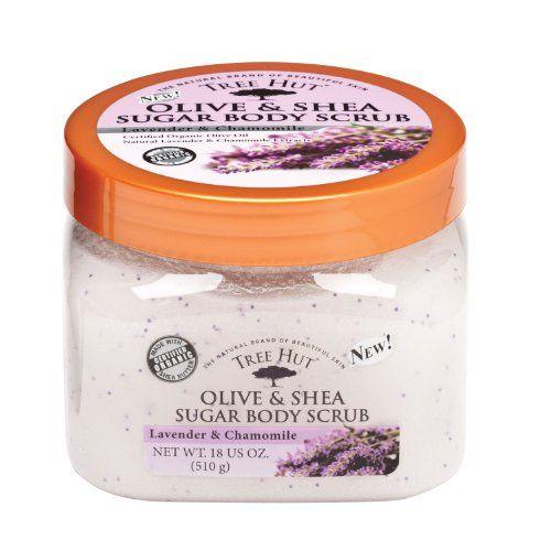 Tree Hut Body Scrub, Lavender and Chamomile, 18 Ounce
