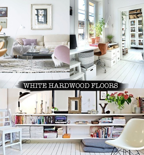Layers Of Meaning Dreaming White Hardwood Floors