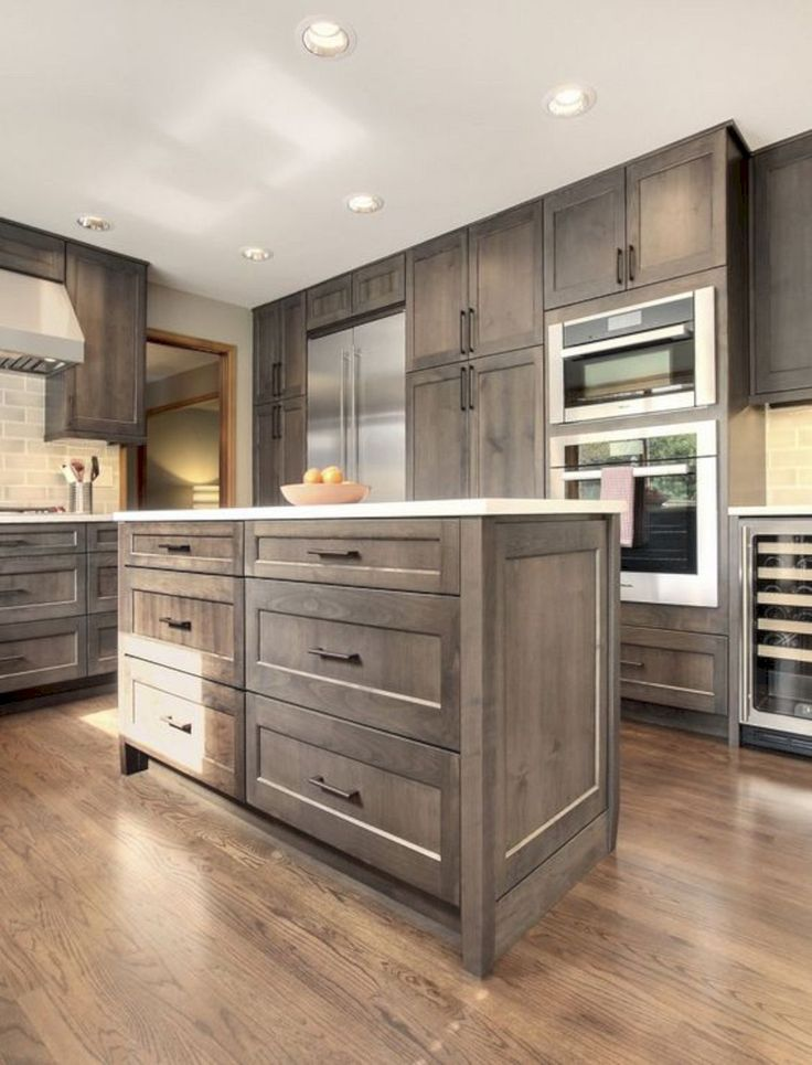 Beautiful Modern Wood Kitchen Cabinet Designs https://www.futuristarchitecture.com/24979-modern-wood-kitchen-cabinets.html