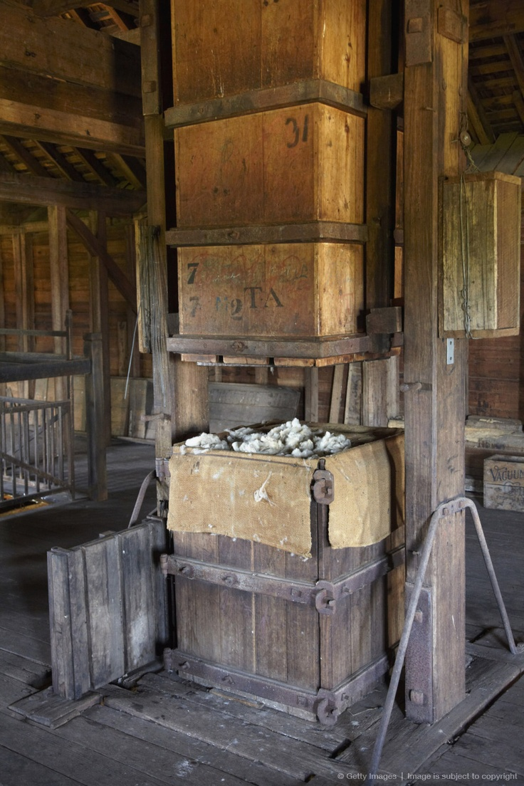Image detail for -Old Wool Press, The Wool Shed, Woolmers Estate, near Longford, Tasmania, Australia