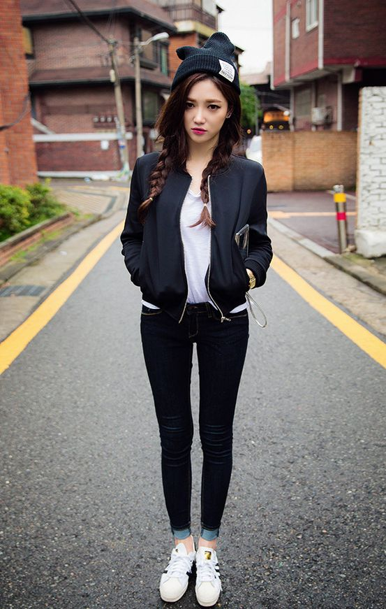 302 best Korean Street Style images on Pinterest | Korean ...