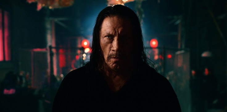 A bit creepy...but I dig this shot of Danny Trejo © Bjoern Kommerell