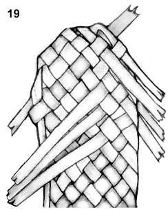 Плетем лапти из газетных трубочек (8) (244x308, 44Kb)
