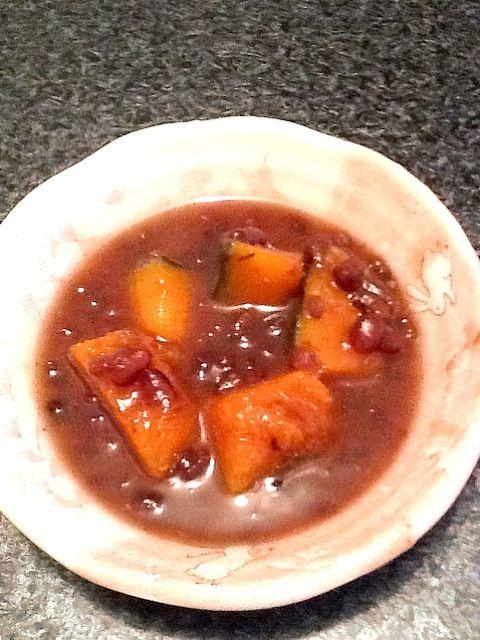 血行を促すかぼちゃと、むくみにいい小豆の簡単塩お汁粉です。 - 5件のもぐもぐ - 小豆とかぼちゃの塩お汁粉 by nerumi