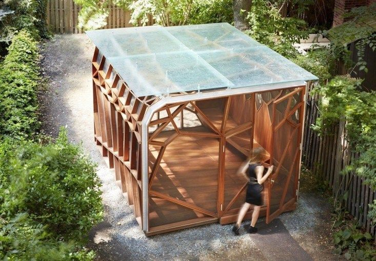 41 Modern Wood Pavilion Design Ideas For Backyard Pavilion