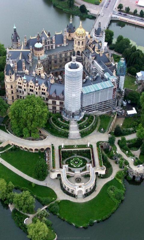 Castillo de la vendimia west alemania