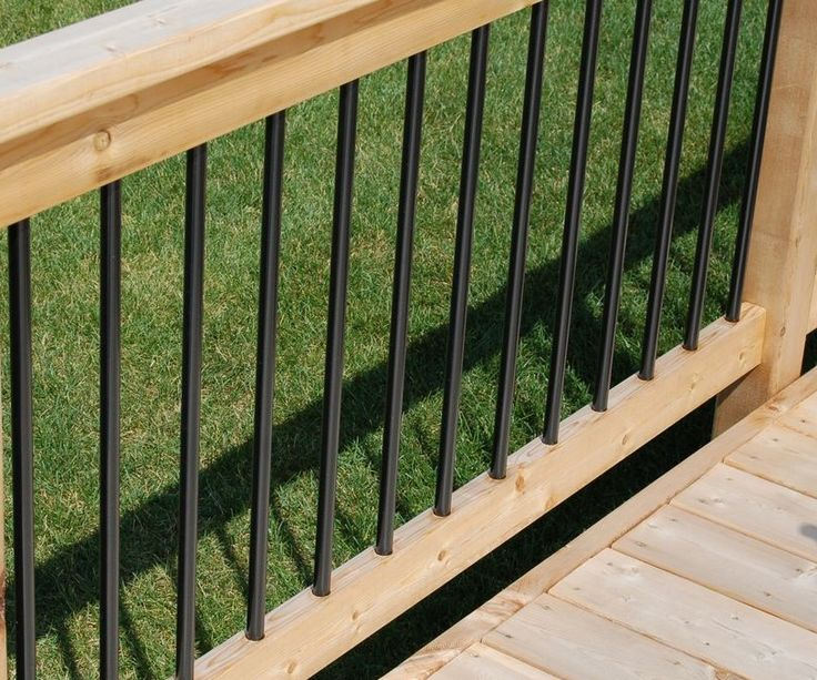 52 best porch railings images on pinterest banister for Composite decking and railing