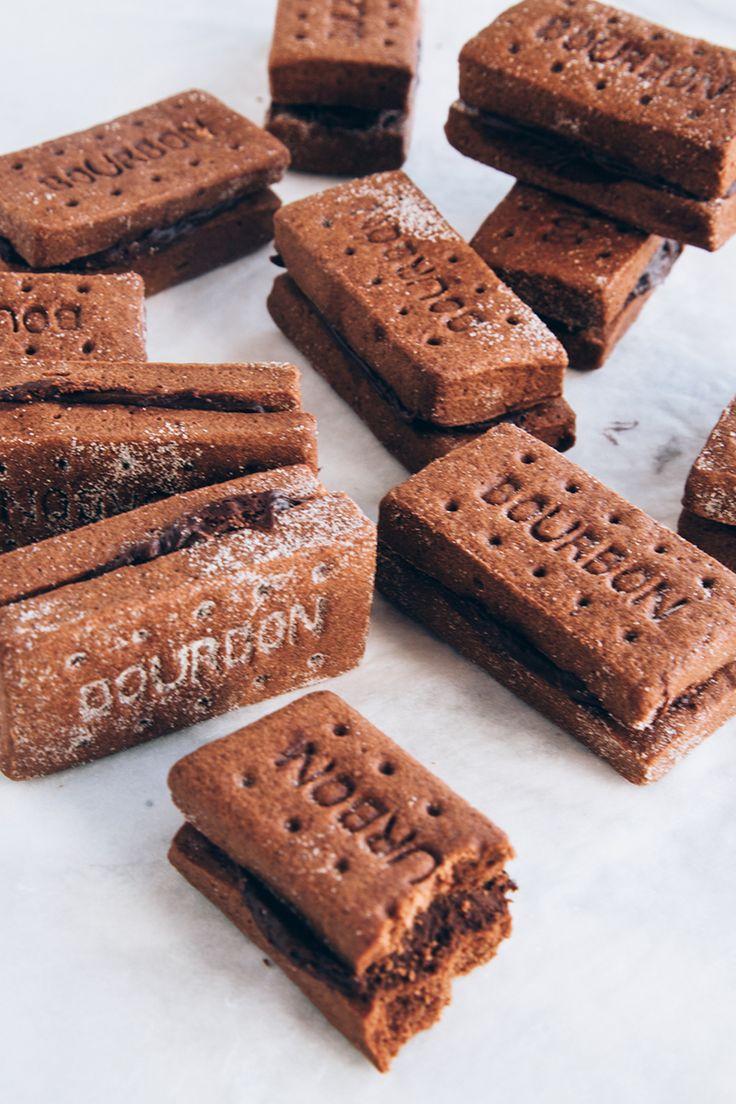 Vegan Bourbon Biscuit Recipe in 2020 Bourbon biscuit