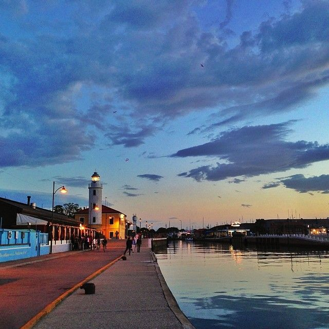 After a long day of travel I finally arrived in the Adriatic coast in Cesenatico - Instagram by dreameurotrip