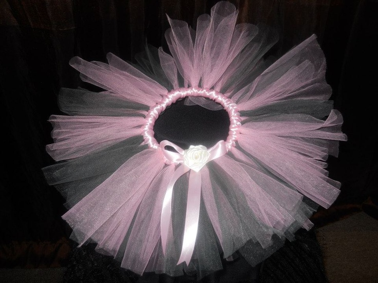 Handmade by Candy's Creations    Infant Size Tutu - Average age 0-4 months. Fits most. Perfect for photography sessions for your new addition!    Baby Pink and Gray Infant Tutu with Pink Satin Band/Bow and White Satin Handmade Rose.    Price: $25  Shipping: Send message    http://www.facebook.com/CandysCoutureCanada
