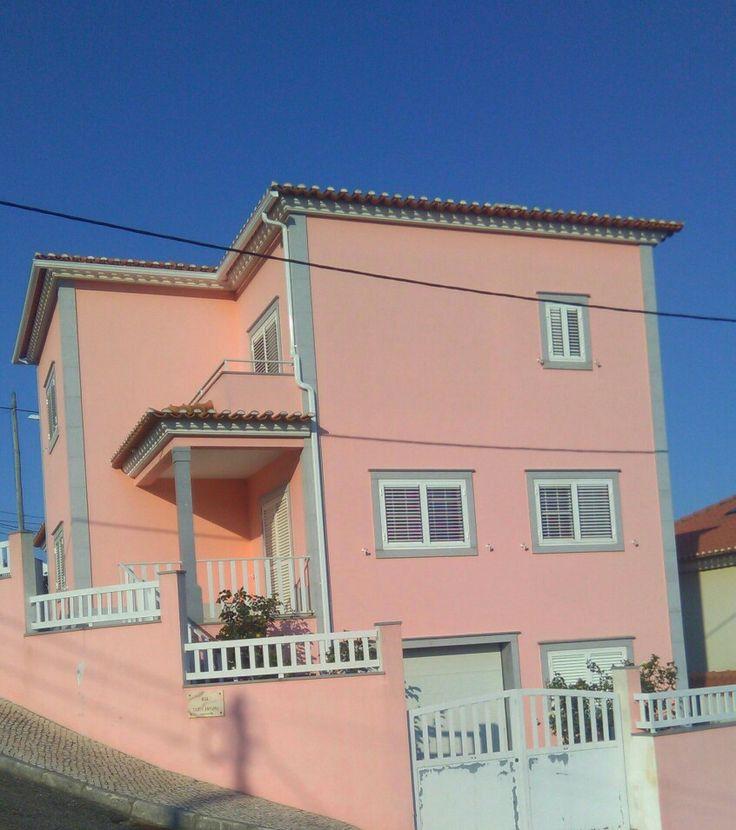 Casinha cor de rosa