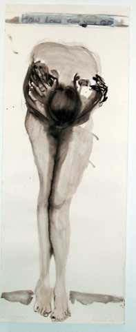 2. Hang in a museum with my artwork.    This is from Marlene Dumas