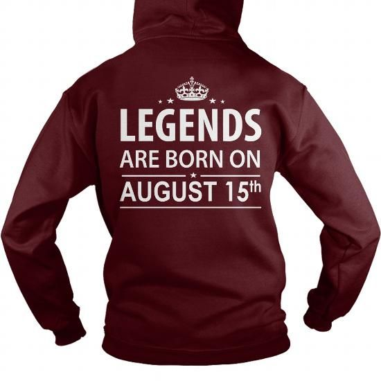 Born 0815 August 15 Birthday 0815 August 15 Shirts Legends T Shirt Hoodie Shirt  #august #ideas #presents #image #photo #shirt #tshirt #sweatshirt #hoodie #tee #gift #funny #anniversary