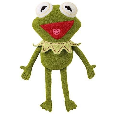 """Pook-a-Looz The Muppet's Kermit The Frog  Plush 12"""" NWT #PookaLooz"""