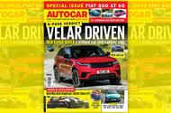 Autocar magazine 26 July  out now This week: New Range Rover Velar; McLaren's P1 follow-up; the cheapest way to buy an Aston Martin; Fiat 500 at 60  This week's Autocar is out now and brimming with gleaming new metal including the hotly anticipated Range Rover Velar which stars for our first drive.  For the quickest new offering we turn to McLaren and drop the top in its new 570S Spider. Does that chopped lid hinder performance? All is revealed in our review.  Rumours suggest that rival…