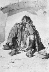MÁMOROS PARASZT. 1854 PETTENKOFEN ÁGOST VÍZFESTMÉNYE A NEMZETI MÚZEUM TULAJDONA