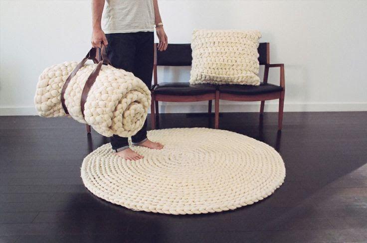 za I N S P I R U J si�: Knit On czyli ciep�e i mi�kkie dodatki dla domu