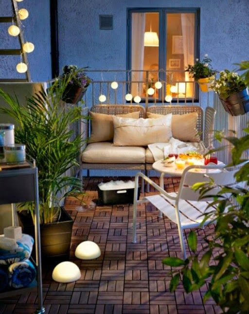 17 best images about what 39 s in that balcony on pinterest - Ideas para decorar una terraza ...