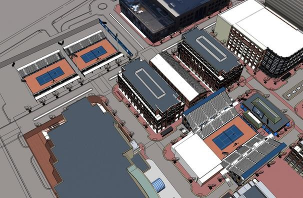 The ATP's newest tennis tournament at Atlantic Station