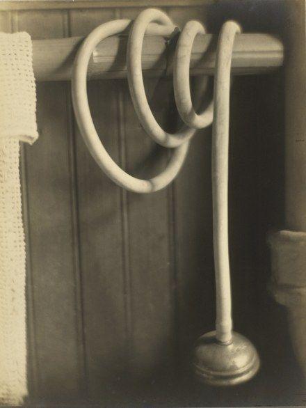 Still-life - Shower Hose, 1919 by  Margaret Watkins