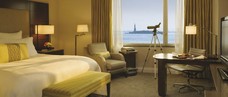 Share a room with Lady Liberty at The Ritz-Carlton New York, Battery Park.: Favorite Places, Amazing Hotels, York Cities, Statues, Central Parks, Ritzcarlton Battery, Ritz Carlton, New York, Battery Parks