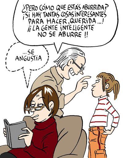 Maitena Burundarena, mujeres alteradas, aquí más de sus viñetas http://www.maitena.com.ar/