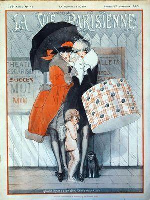 Jacques (Julien) Leclerc. La Vie Parisienne, 27 Novembre 1920.