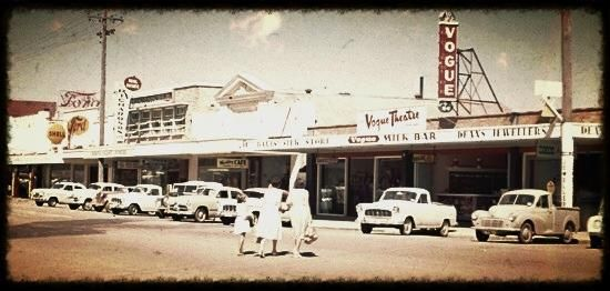 Vogue theatre Currie St Nambour 4560 Sunshine Coast Qld Australia/Year 1960