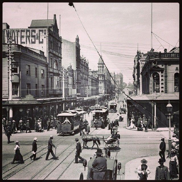 King Street Sydney c.1900