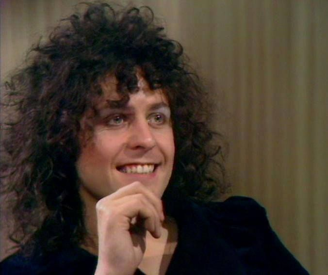 mb...Marc Bolan....of T-Rex.  Cute man!  Wish he could've stuck around.