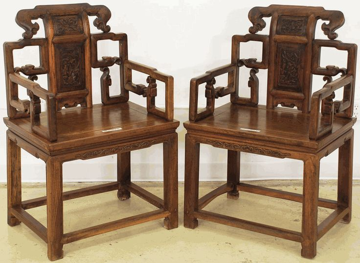 Japanese Furniture   Antique Asian Furniture: Official Armchairs From China Part 81