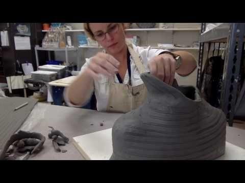 Slab Bust Ceramics Tutorial - YouTube