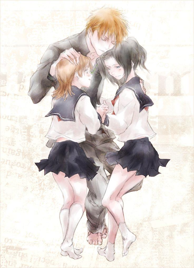 Love this bleach ichigo and karin hentai ass under