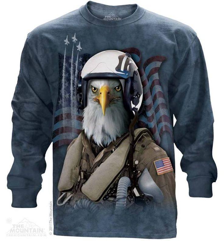 Combat Eagle Stryker Long Sleeve Tee - Womens Clothing - - Women T-Shirt - T-Shirts for women - Mens Clothing - Mens t-shirts - t-shirt for men - Unisex T-Shirts - Cotton T-Shirts - Long Sleeve T-Shirts - Long Sleeve T-Shirt - Christmas Ideas - Presents for Christmas