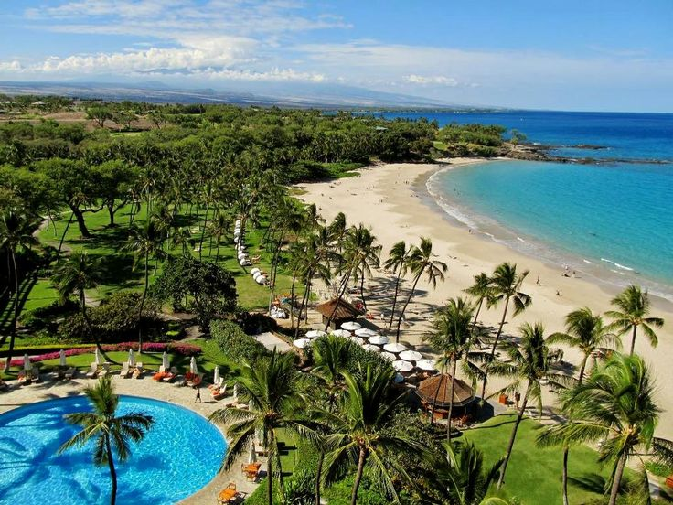 Mauna Kea Beach Resort Island Hawaii