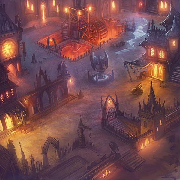 Core Mundi - Isometric Game Environment on Behance