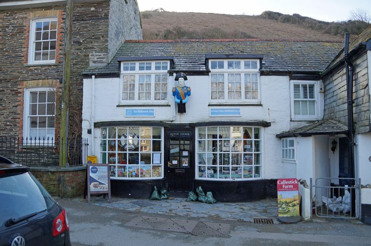 The Buttermilk Shop, which is Portwenn village pharmacy in the Doc Martin TV series