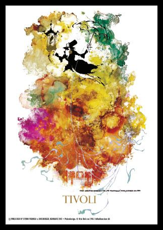 Otto Nielsen - Tivoli plakat 1986