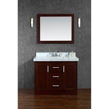 sink and vanity set. Seacliff by Ariel Ashbury 42  Single Sink Vanity Set with Carrera White Marble Countertop Best 25 sink vanity ideas on Pinterest