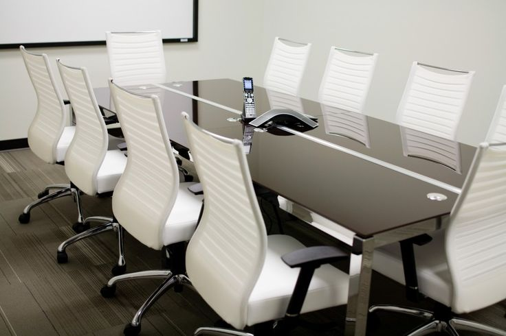 Modern Conference Tables in Glass, Laminate and Wood