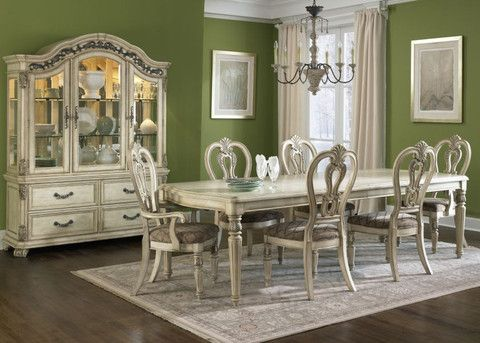 Furniture For The Dining Room Tables Chairs Buffets China Cabinets Full Dinette Sets