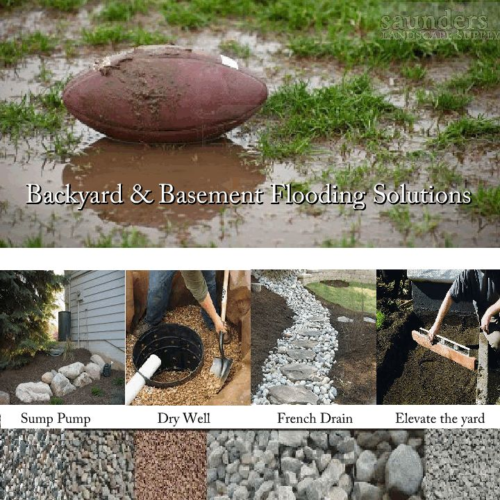 French Drain Supplies