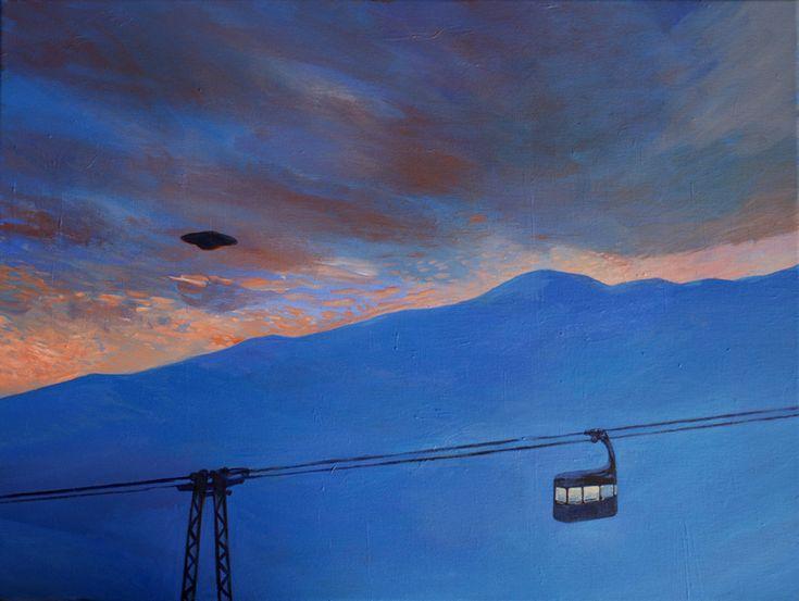 Painting UFO | Joanna Karpowicz