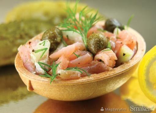 Łososiowe smakowitości na przekąskę. Kliknij w zdjęcie aby zobaczyć przepis!