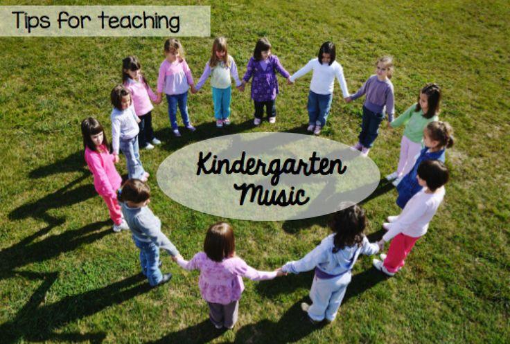Tips for Teaching Kindergarten Music #elmused