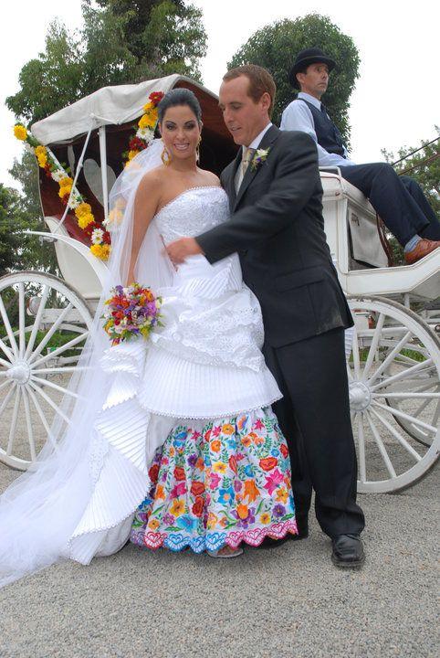 Vestido de la novia peru