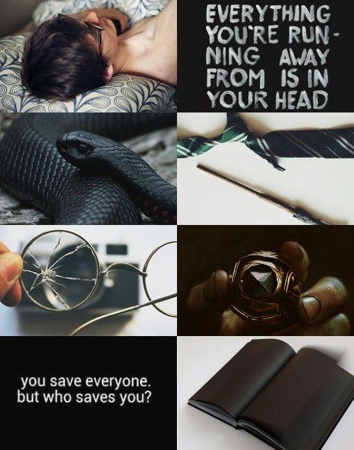 Harry Potter Aesthetics ➤ Character: Slytherin! Harry Potter