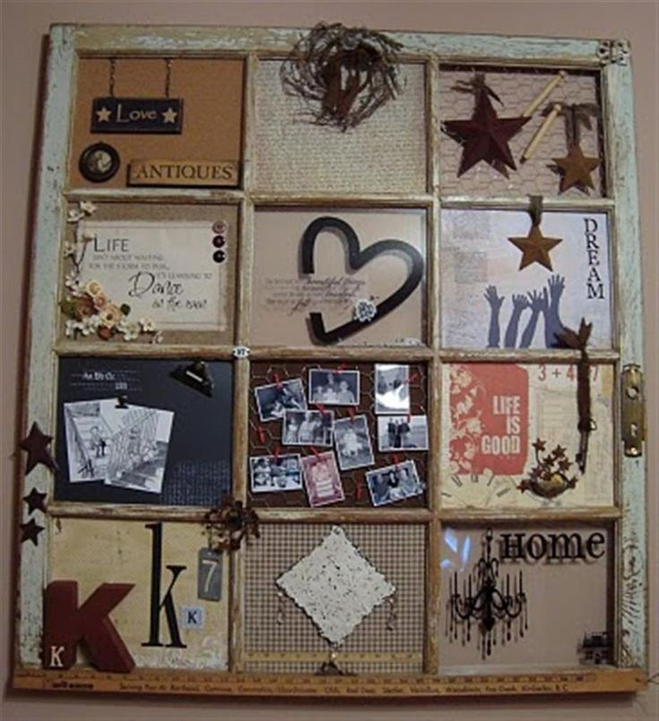 Window Frame Craft Projects