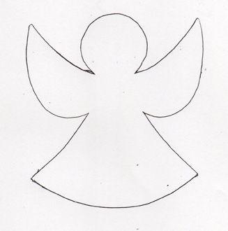 ber ideen zu engel vorlage auf pinterest vorlagen engelchen und engel. Black Bedroom Furniture Sets. Home Design Ideas