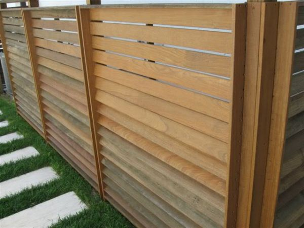 How To Build Louvered Fence Remodeling Design Ideas 4